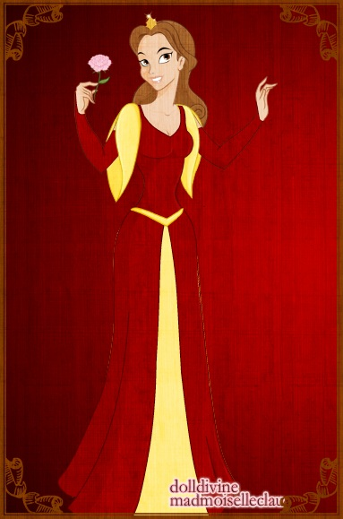 Belle's Christmas Dress by butterflycutie77 on DeviantArt Beauty And The Beast Belle Pink Dress