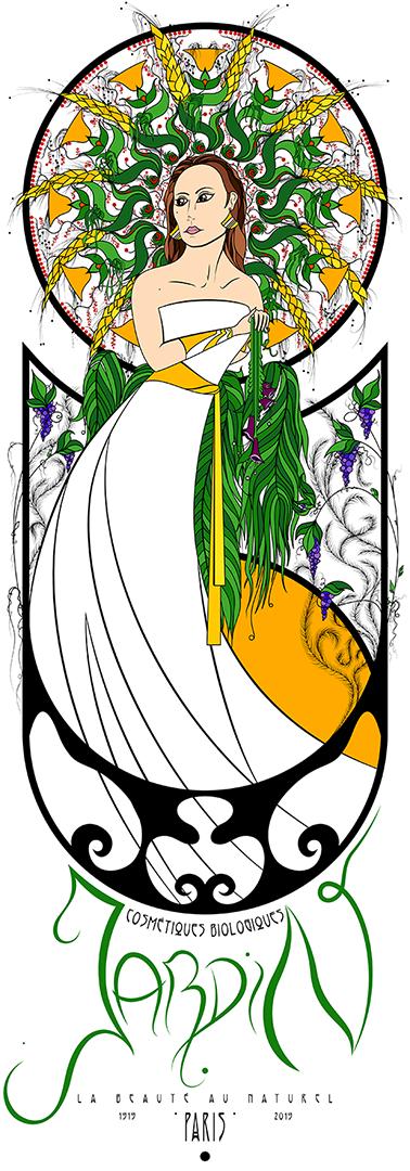Jardin (Coloured) by Jtaah