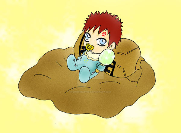 Baby Gaara by 3rdSpeedster on DeviantArt Gaara As A Baby