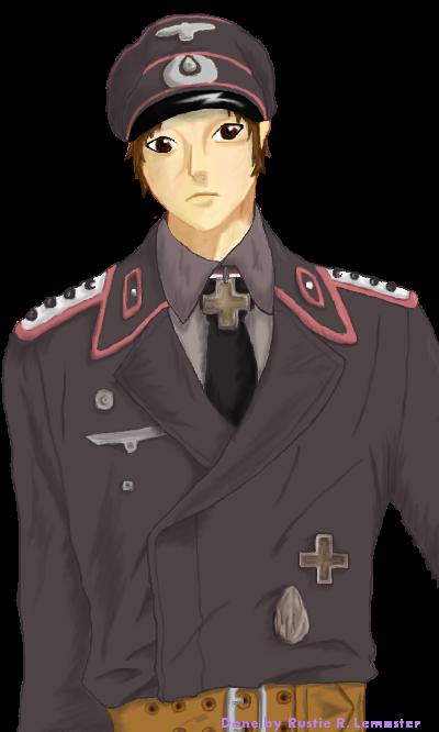 Hptm hans panzer commander by rose laxzi on deviantart for Commander rose