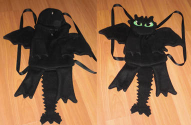 Dragon bag by AniPirates