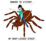 Onward, My Many-Legged Steed!