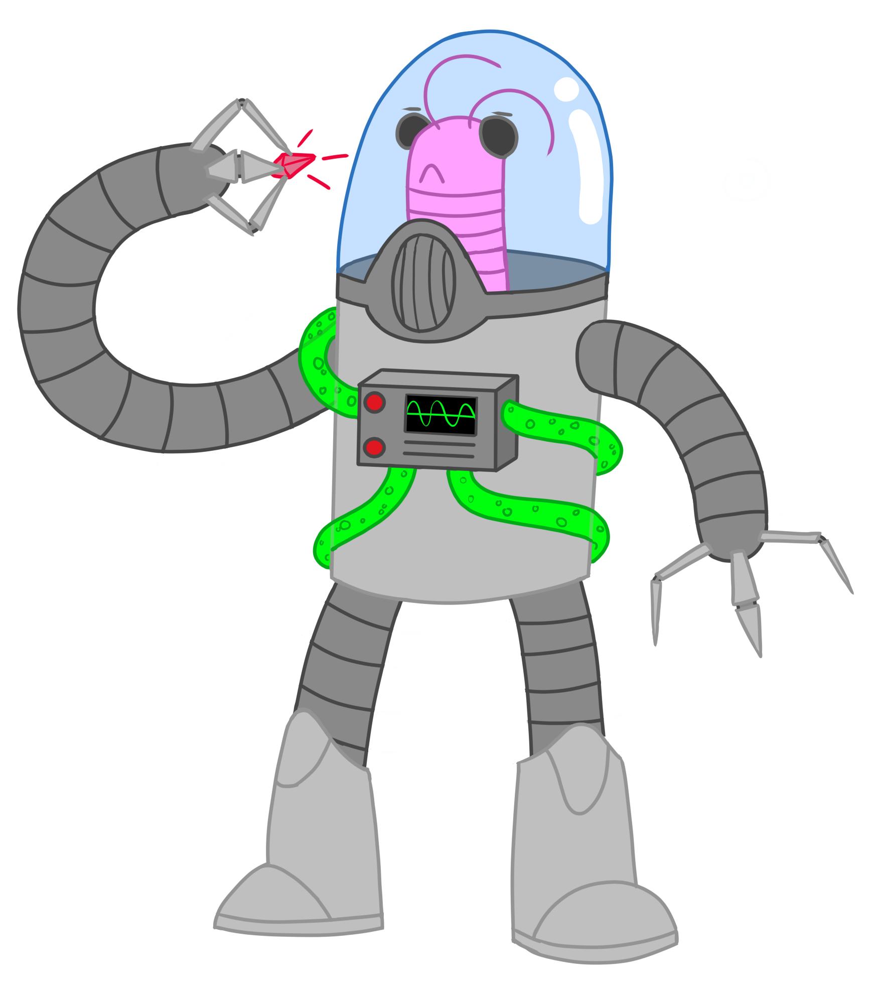 Some Friggin Alien Doodle Guy