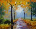 Wet Autumn Morning