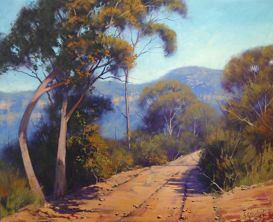 Blue mountains australia by artsaus on deviantart for Australian mural artists
