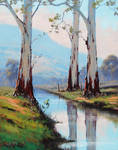 River Gums -Graham Gercken