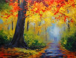 Autumn Trail by artsaus