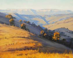 Afternoon Light Kanimbla Valley by artsaus