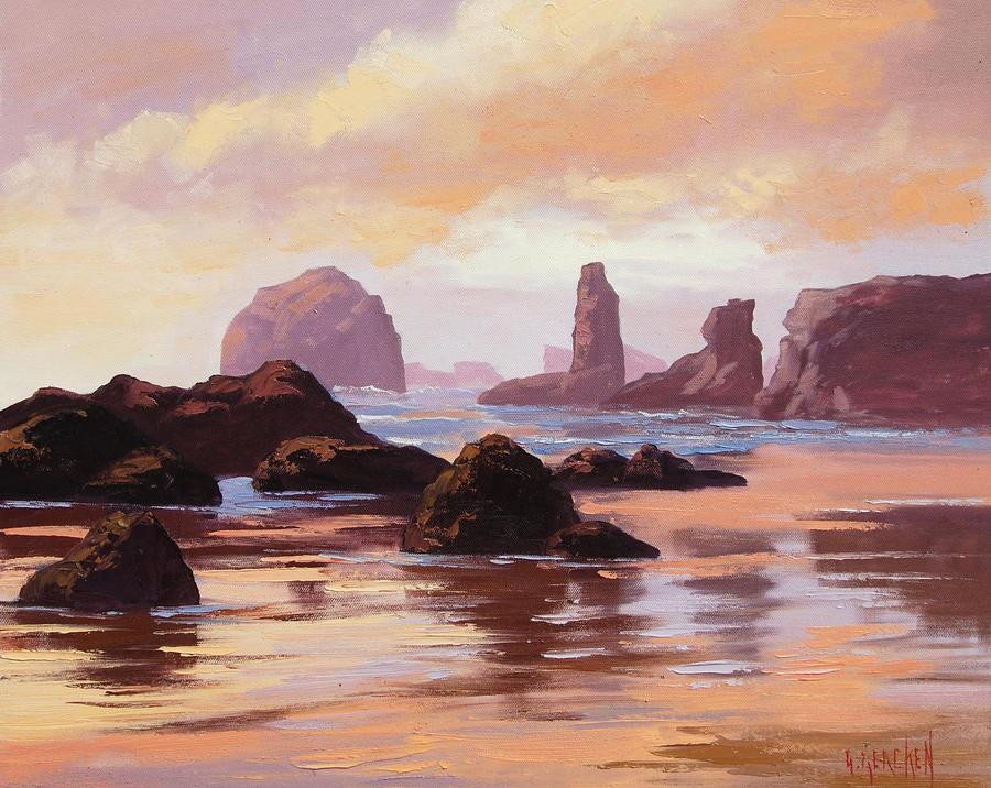 Oregon Sunset by artsaus