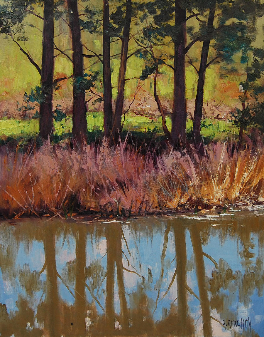 Coxs River Bank by artsaus