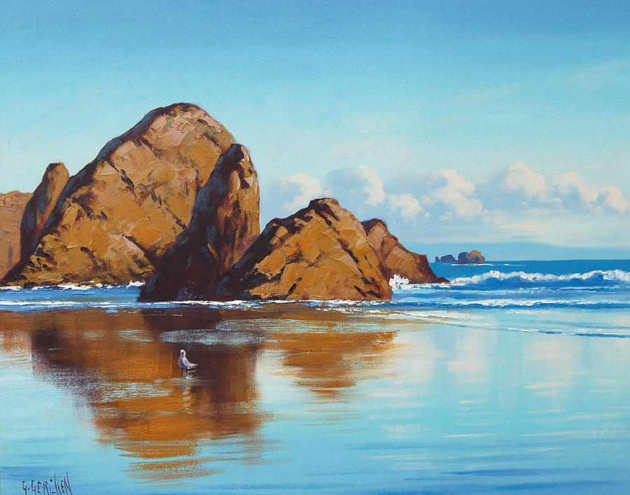 Oregon Rocks by artsaus