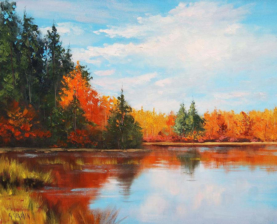Famous Paintings Of Lakes