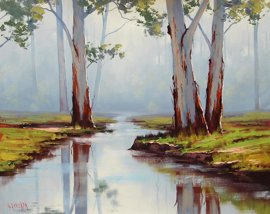 Red river gums australia by artsaus on deviantart for Australian mural artists