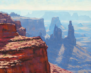 Above the Canyon by artsaus