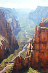Zion Gorge Painting
