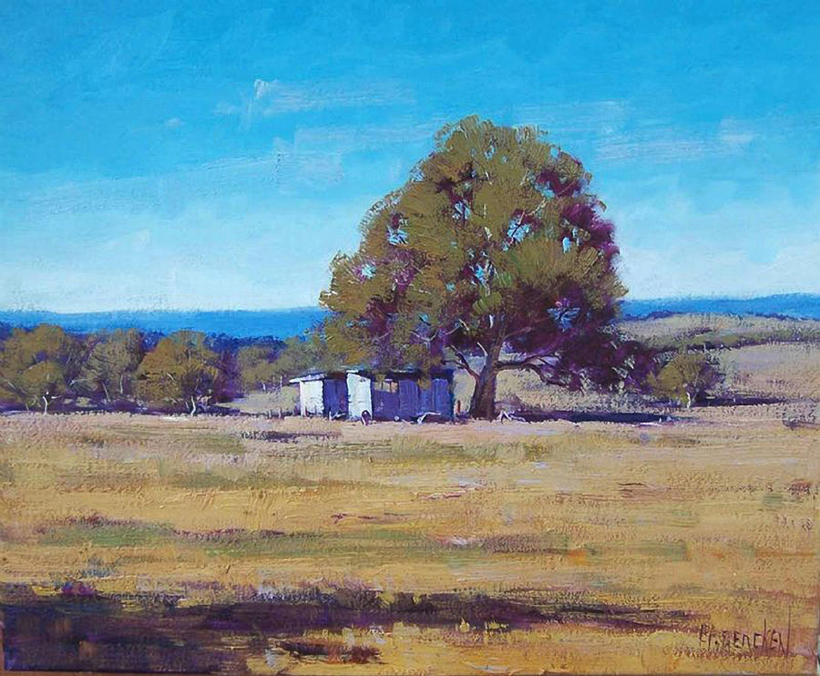 Summer Landscape by artsaus