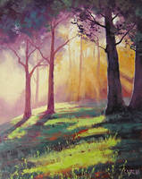 Forest Sunlight by artsaus