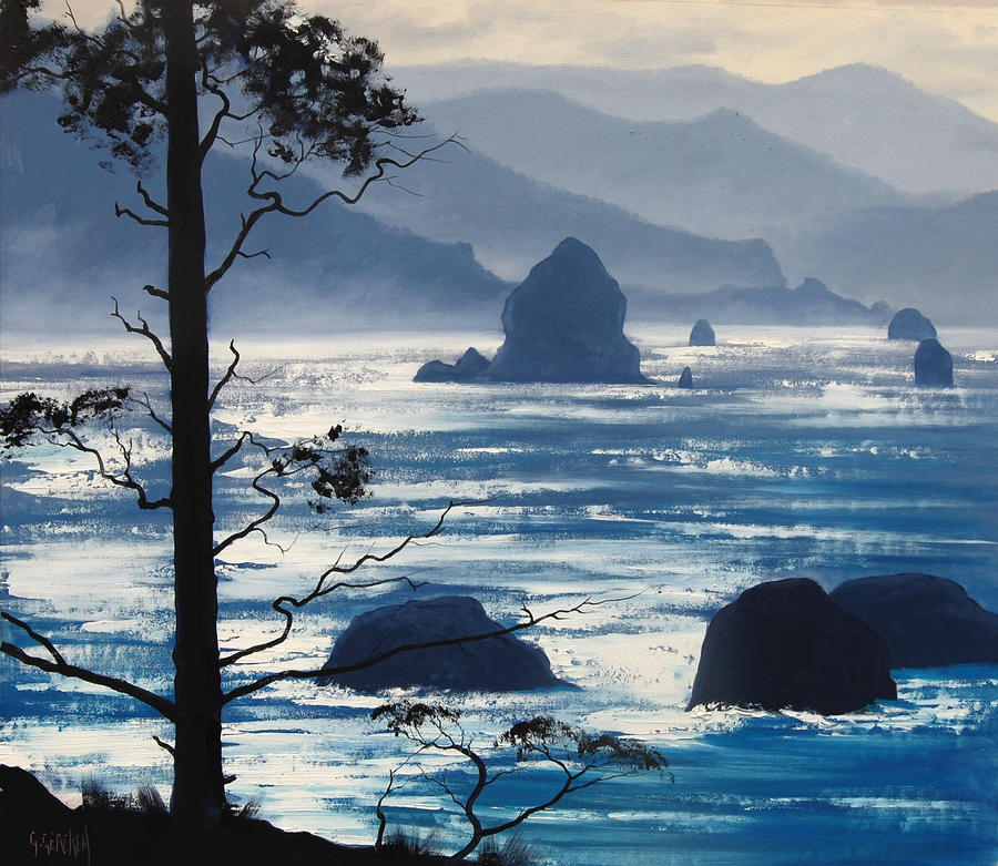 Oregon Seascape by artsaus