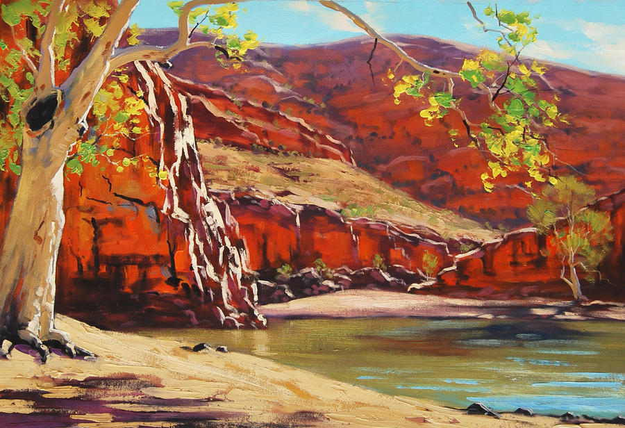 Famous Australian Outback Paintings