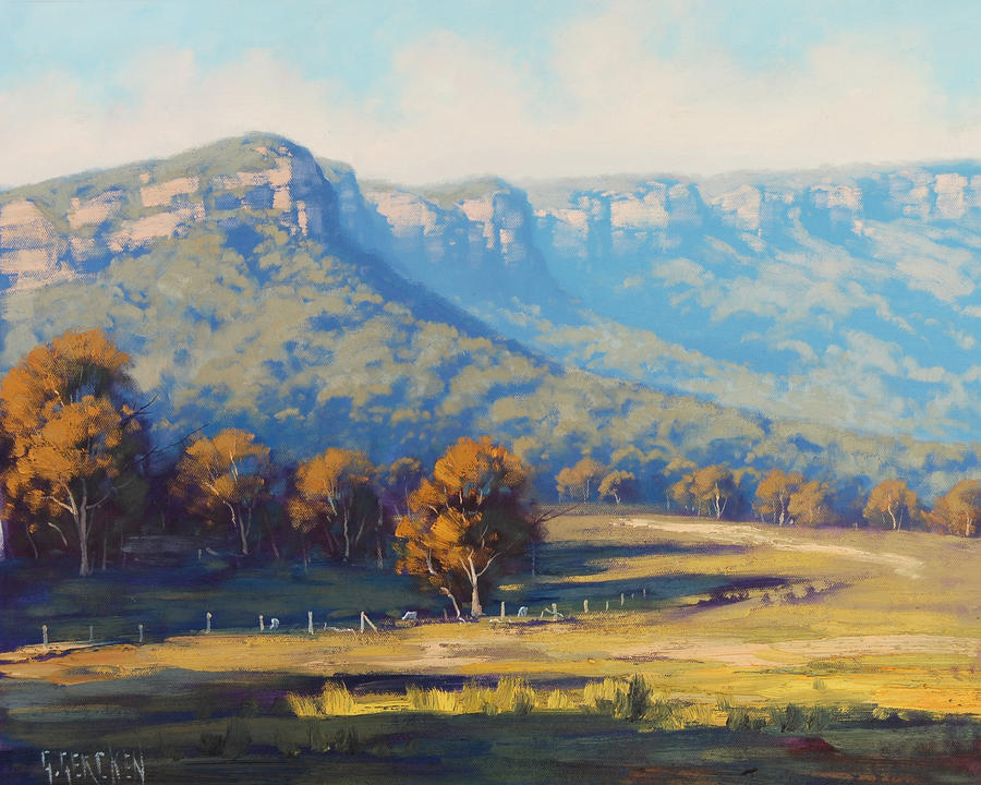 Megalong Valley by artsaus