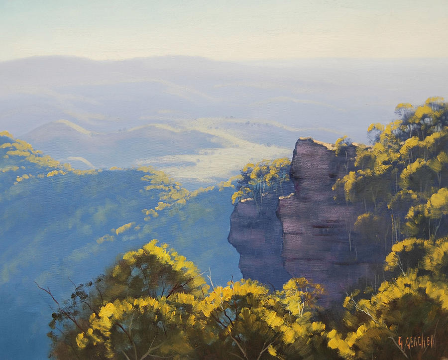 Blue Mountains nsw by artsaus