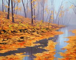 Fallen Leaves by artsaus