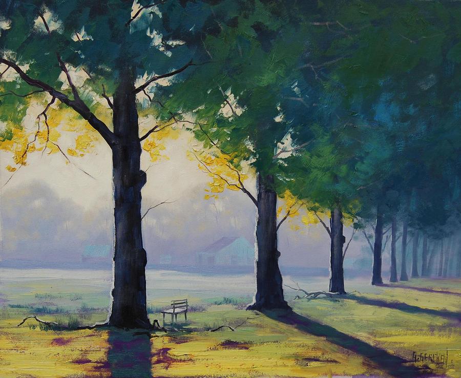 Morning light Park by artsaus