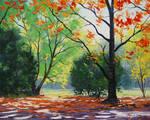 Dappled Autumn Light
