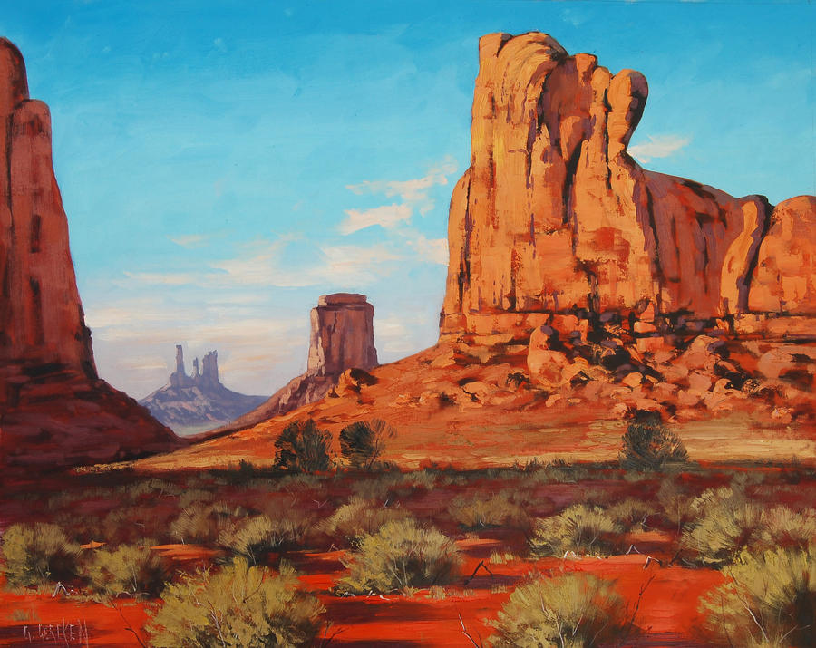 Monument Valley painting
