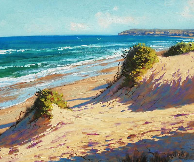 Coastal Dunes by artsaus