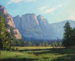 Yosmite Landscape Painting