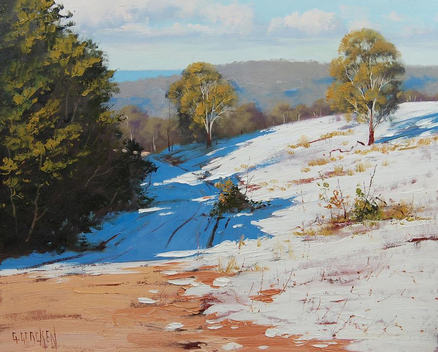Sunny Corner Winter by artsaus