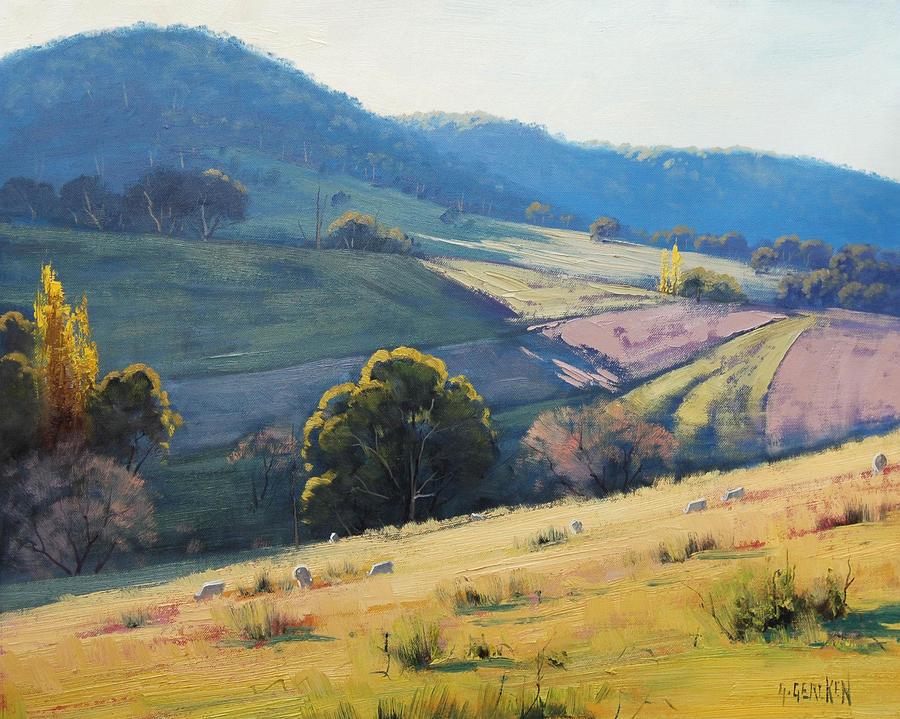 Afternoon light tarana australia by artsaus on deviantart for Australian mural artists