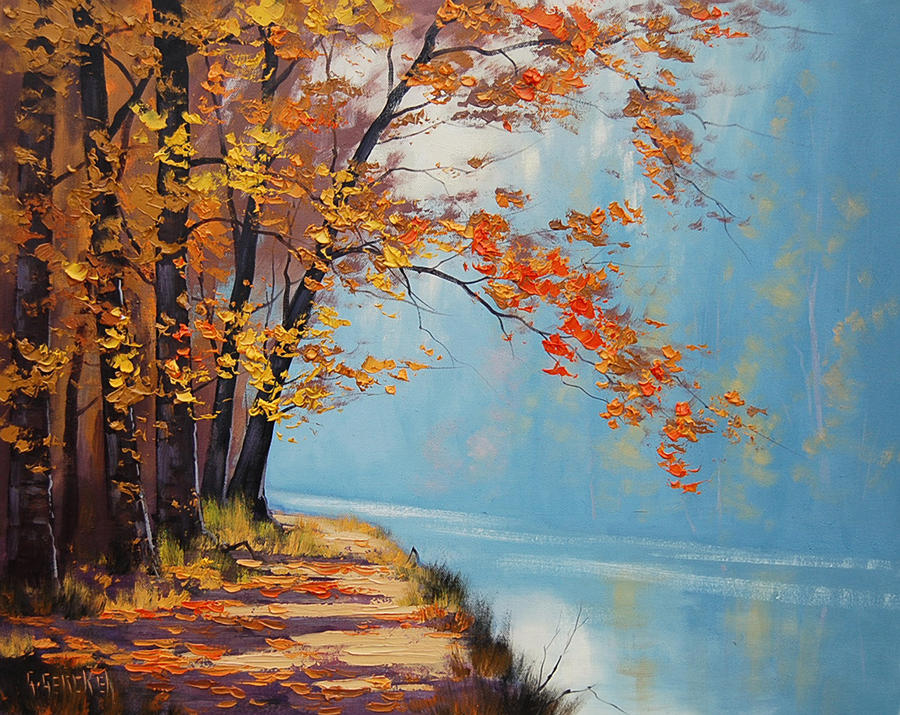 Lake_path by artsaus