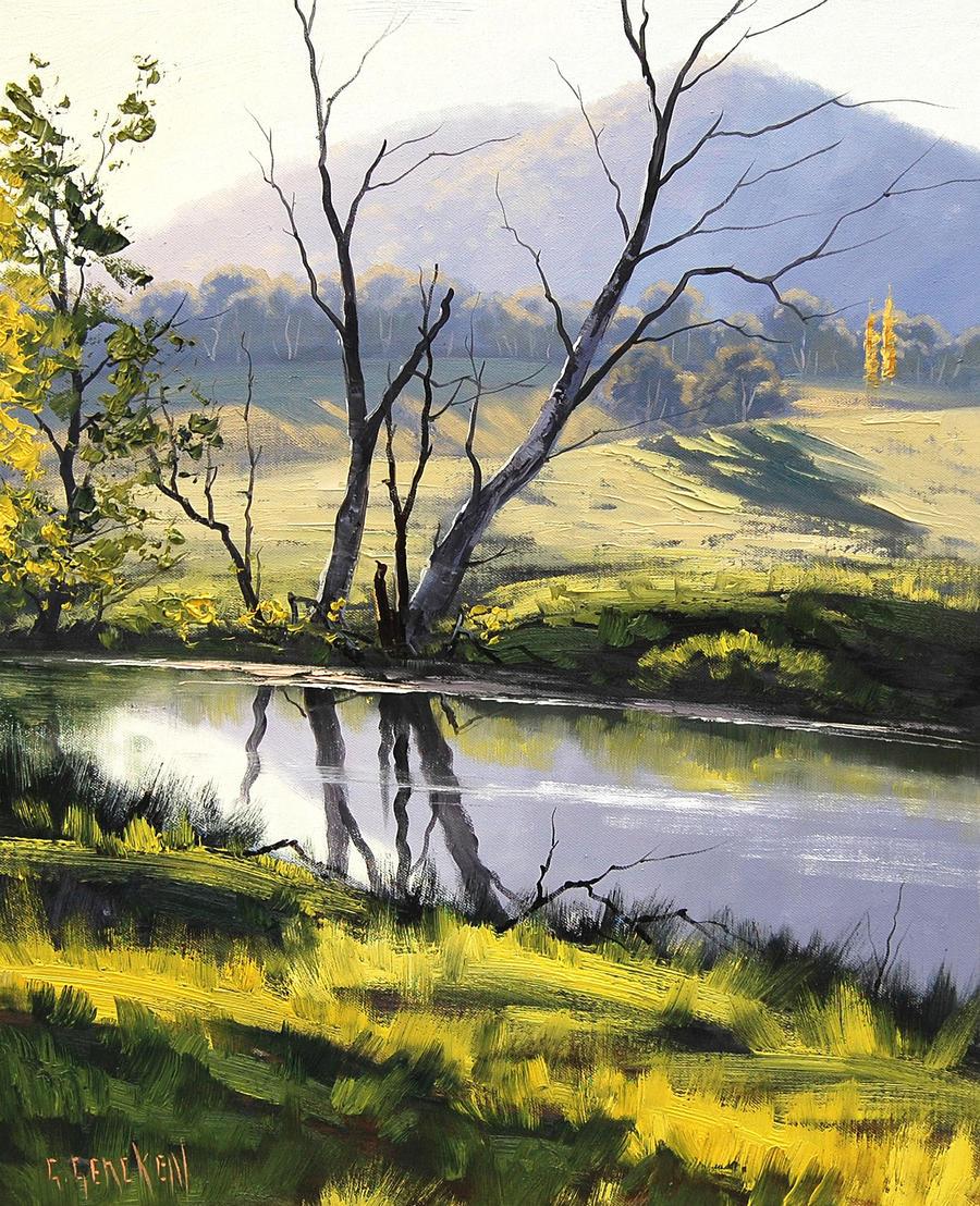 River Bank Tarana, Australia by artsaus