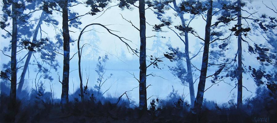 Blue Lake by artsaus