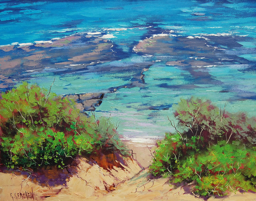 Shallow Coastline by artsaus