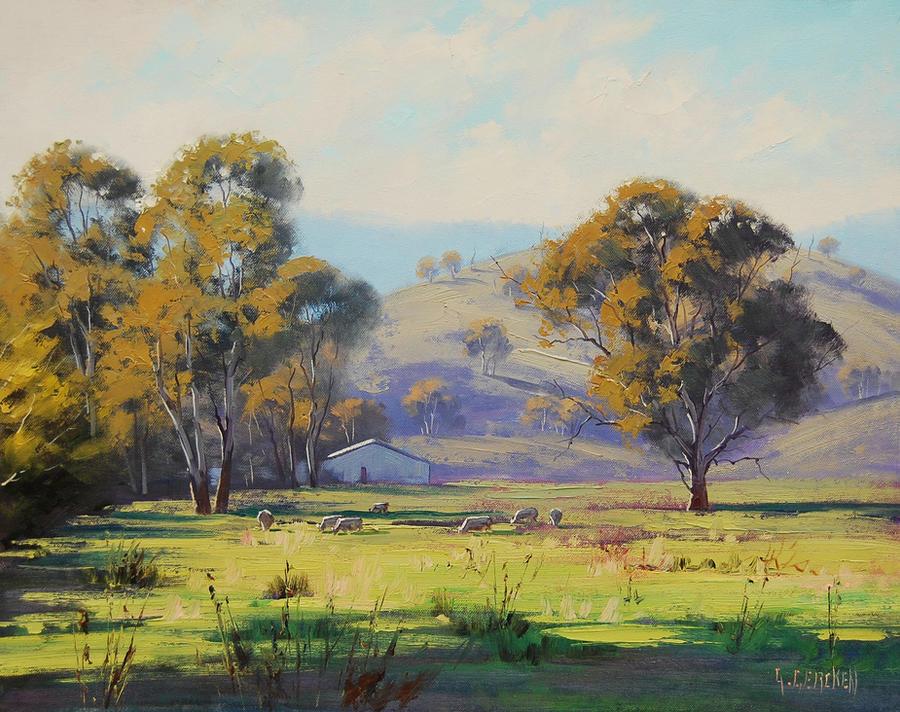 Pastoral Landscape by artsaus