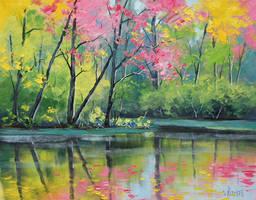 River Colors by artsaus