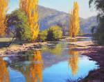 Tumut River Painting