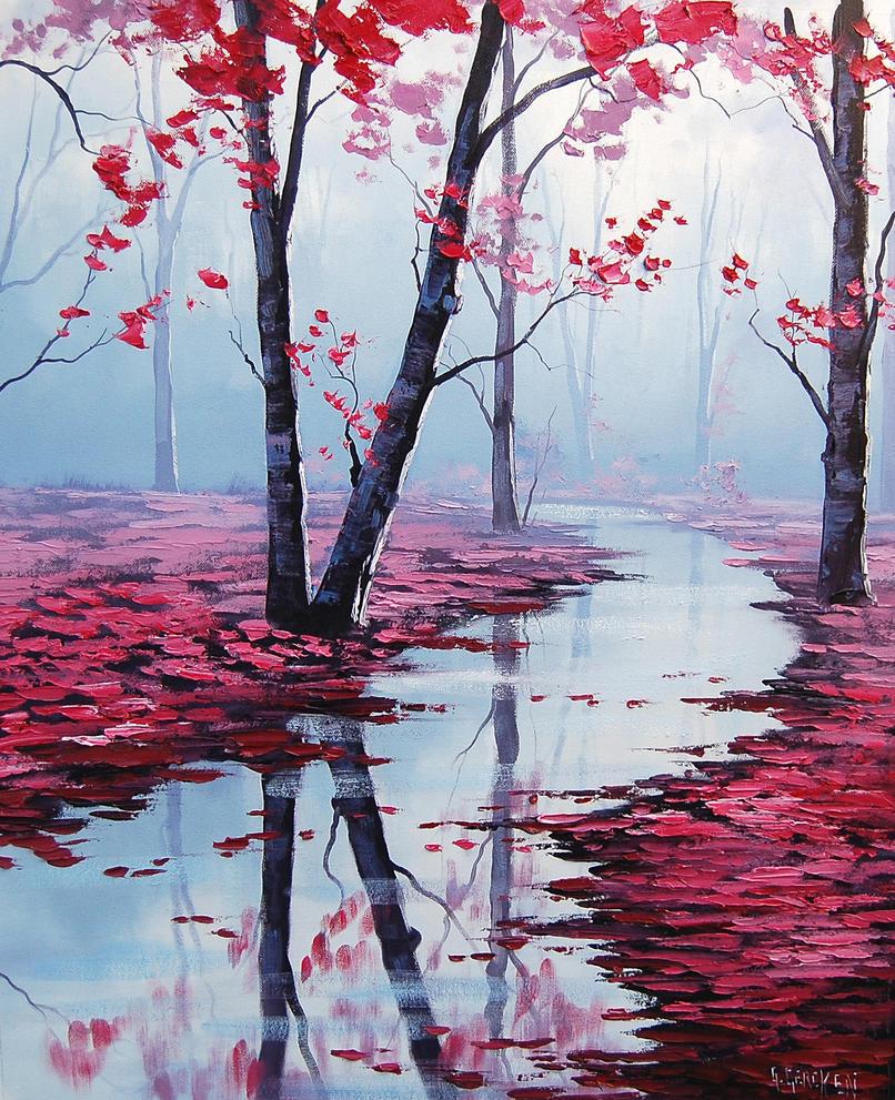 Quiet Stream by artsaus