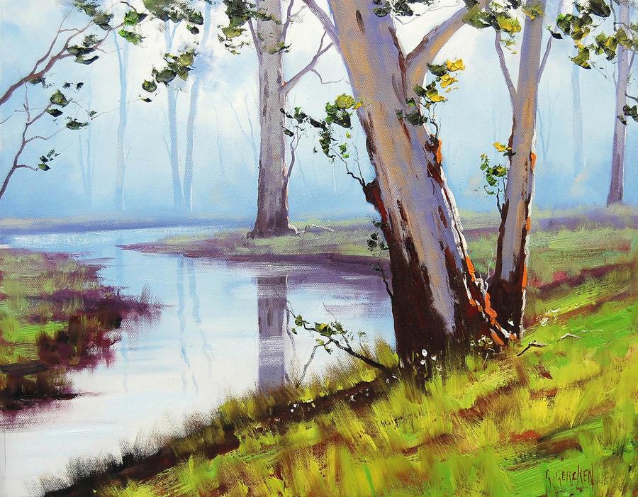 Australian landscape by artsaus on deviantart for Australian mural artists