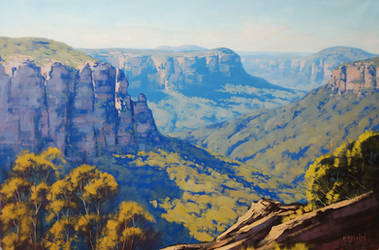 Blue Mountains Australia by artsaus