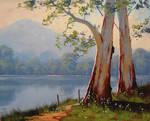 Lake Gum Trees