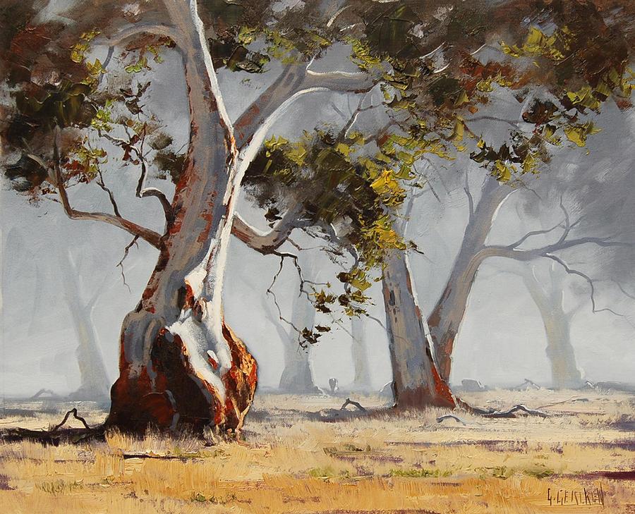 Eucalyptus tree Paintings