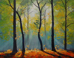 Backlight Forest by artsaus