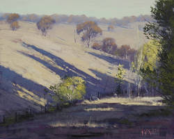 Australian Summer Painting by artsaus