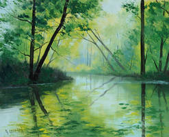Forest Green by artsaus