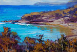 Beach Impression Painting