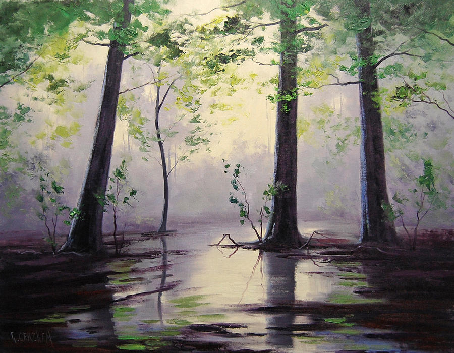 Wet Forest by artsaus
